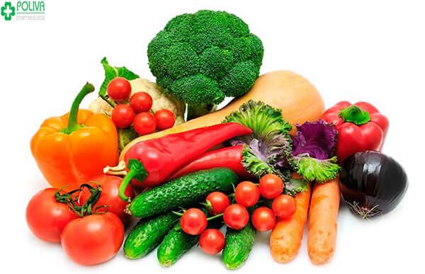 Rau quả củ quả chứa nhiều các phytochemicals giúp tăng cường sinh lý nữ