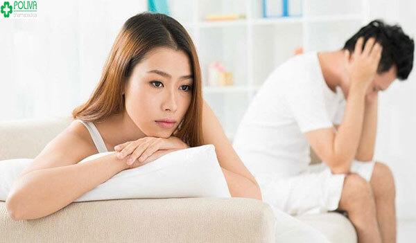 Yếu sinh lý nữ do giảm hoóc môn sinh dục nữ trong cơ thể