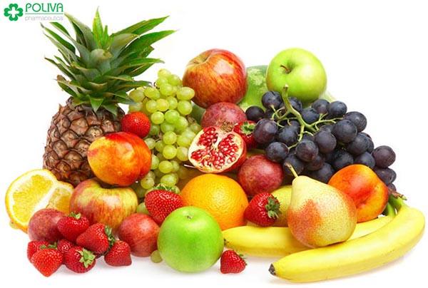 Hoa quả chứa nhiều axit amin giúp thanh lọc cơ thể, tăng cường sinh lý nữ hiệu quả