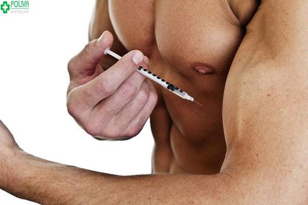 Nhiều người còn trực tiếp tiêm hormone tăng cơ bắp để mong có hiệu quả nhanh hơn.