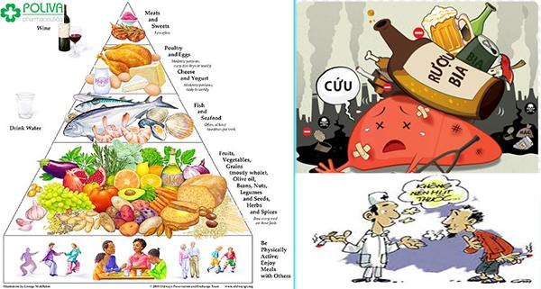 Ăn uống hợp lý trong quá trình điều trị bệnh liệt dương