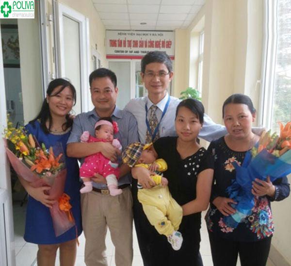 Niềm hạnh phúc của các bác sỹ khoa sản là thấy bệnh nhân của mình mẹ tròn con vuông.