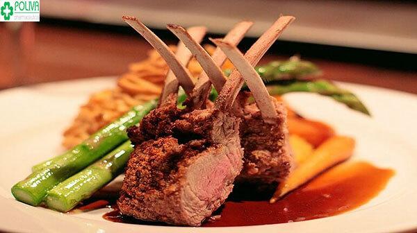 Thịt cừu là món ăn lạ, ngon, chứa nhiều chất dinh dưỡng
