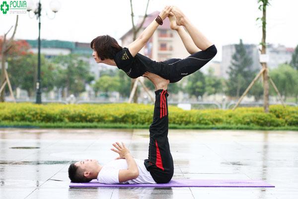 Tác dụng của Yoga: Tốt cho chuyện yêu