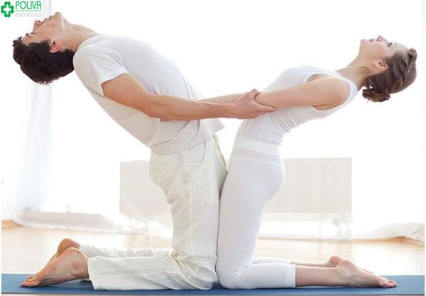 Yoga giúp bạn có thể điều khiển các nhóm cơ, kiểm soát các hành động liên quan đến sinh lý