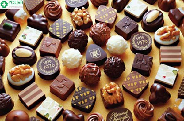 Ăn sô-cô-la thường xuyên sẽ có nhu cầu sinh lý cao hơn