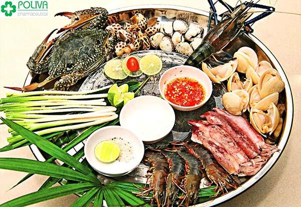 Ăn hải sản sống để đạt được hiệu quả tốt nhất