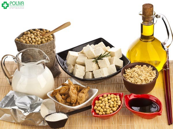 Tinh chất isoflavones trong đậu nành có tác dụng như estrogen