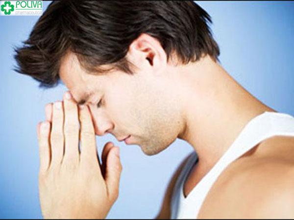 Dấu hiệu nhận biết yếu sinh lý nam là thần kinh căng thẳng