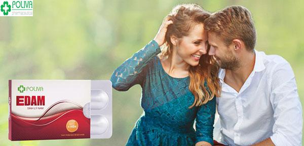 Poliva Edam - giải pháp giúp tăng cường sinh lý nam