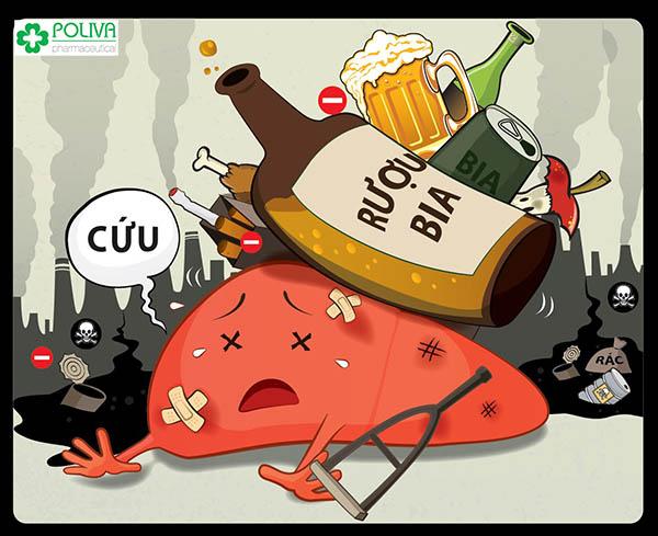 Không sử dụng thuốc lá, rượu bia