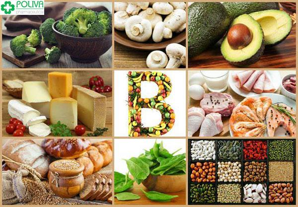 Các thực phẩm giàu vitamin B