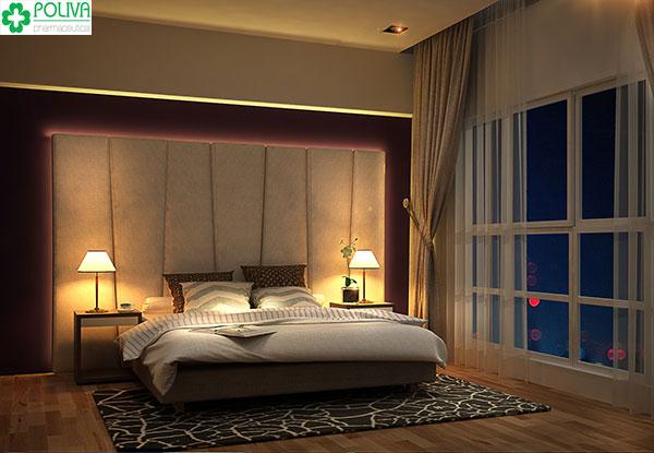 Một chút ánh sáng đèn ngủ sẽ giúp cuộc yêu thêm phần nồng nhiệt hơn.