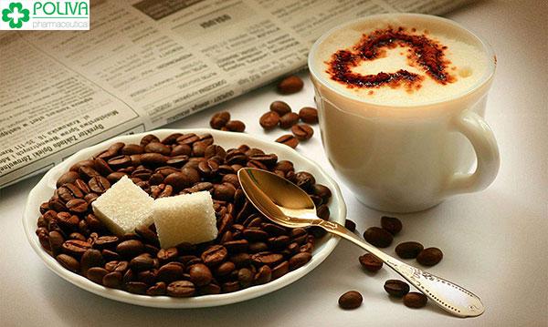 Sử dụng cà phê với một liều lượng nhất định
