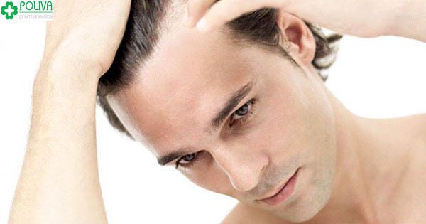 Rối loạn cương dương do thiếu kẽm có biểu hiện bên ngoài như rụng tóc