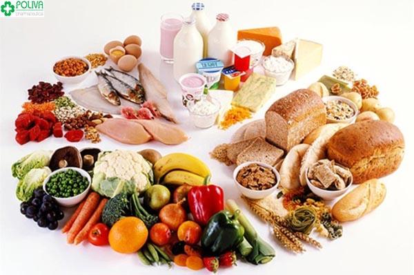 Chế độ ăn uống hợp lý giúp ngăn ngừa những rối loạn trong cơ thể