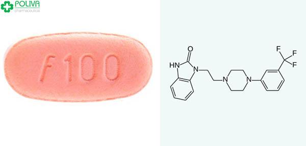 Flibanserin sử dụng trong các thuốc chống trầm cảm