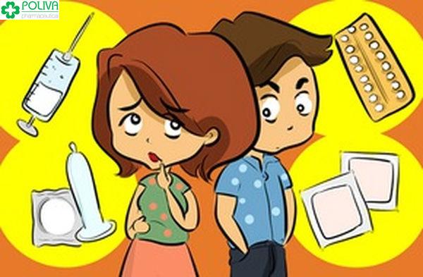 Cặp đôi nào cũng quan tâm đến chuyện tránh thai khi quan hệ