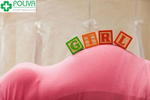 Dấu hiệu mang thai bé gái đặc trưng