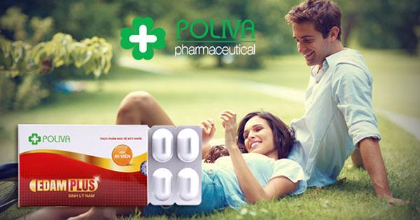 Bộ sung thực phẩm chức năng Poliva Edam Plus để cải thiện chất lượng và số lượng tinh trùng