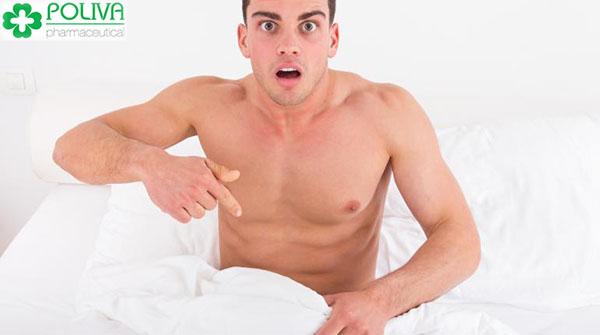 Dương vật chảy mủ có có thể là do nam giới bị nhiễm nấm candida