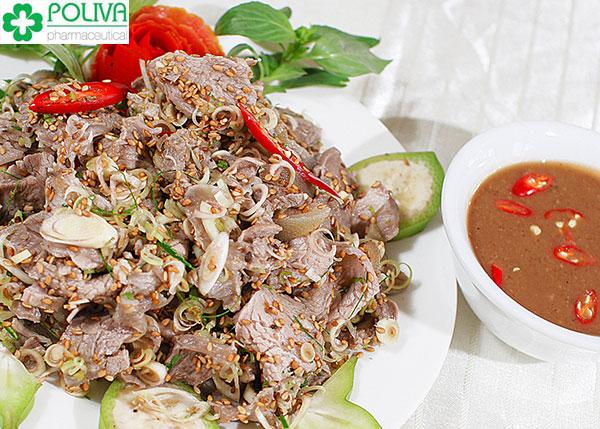 Thịt dê chứa nhiều vi lượng kích thích ham muốn cao, rất có lợi cho sức khỏe sinh sản nam giới