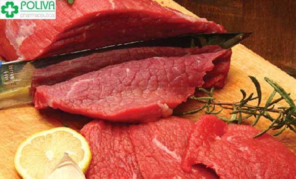 Lượng kẽm có được trong thịt bò đã được chứng minh là giúp bảo vệ tinh trùng khỏi tác dụng xấu của những gốc tự do