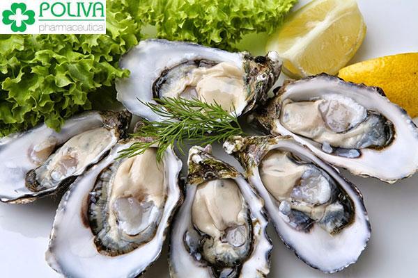 Hàu biển là thực phẩm tốt cho đàn ông nhờ lượng kẽm dồi dào