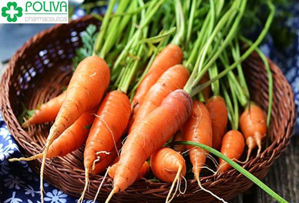 Một lượng lớn carotenoid có trong cà rốt là nguyên nhân dễ dẫn đến vô sinh