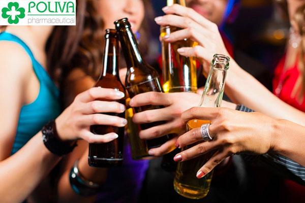 Rượu bia có ảnh hưởng tiêu cực đến sức khỏe con người, đặc biệt là sức khỏe sinh sản cả hai giới
