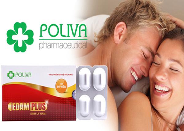 Sử dụng thêm Poliva Edam Plus để tăng cường sức khỏe, sức dẻo dai, tráng dương, cường gân cốt