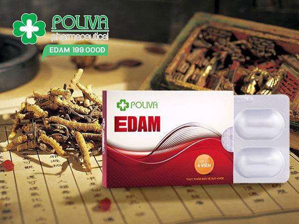 Poliva Edam giúp tăng cườn sinh lý nam giới một cách an toàn và hiệu quả