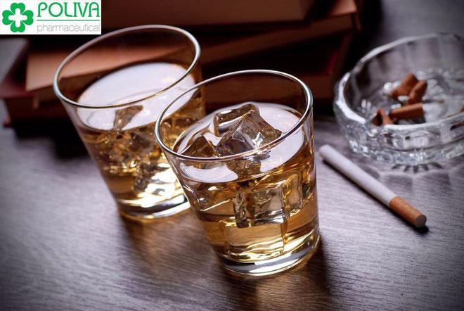 Hạn chế bia rượu và các chất kích thích để nâng cao chất luowbgj tinh trùng