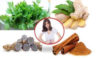9 loại thảo dược kỳ diệu giúp giảm đau bụng kinh