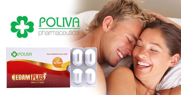 Bổ sung thảo dược Poliva Edam Plus giúp tăng cường sinh lý nam hiệu quả