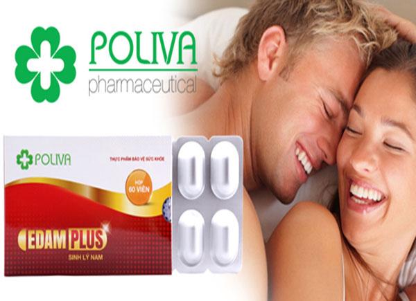 Poliva Adam Plus trợ thủ đắc lực tăng khả năng cương dương