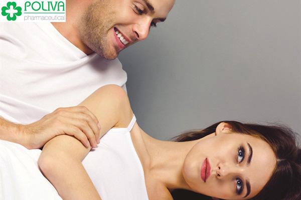 Quan hệ không có cảm giác là hiện tượng thường gặp ở nữ giới