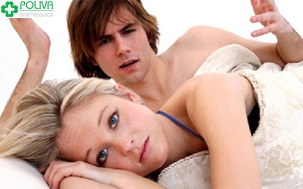Chứng khô hạn khiến phái nữ không muốn gần gũi bạn đời.