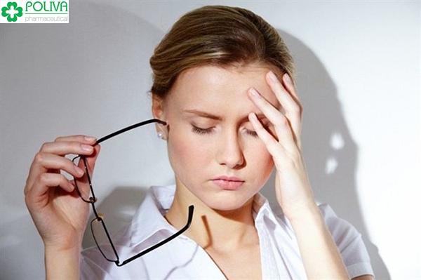 Làm việc căng thẳng cũng gây rối loạn kinh nguyệt.