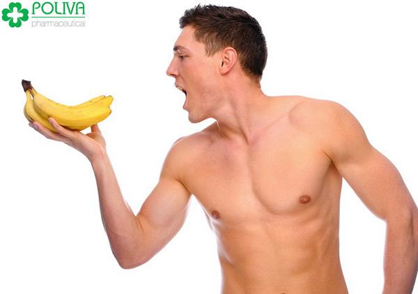 Chuối là thức quả không chỉ tốt cho phái đẹp mà còn tốt cho cả cánh đàn ông.