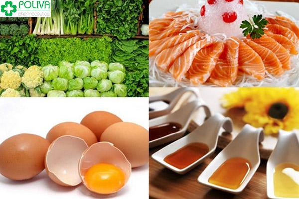 Các thực phẩm có chứa nhiều vi lượng sắt