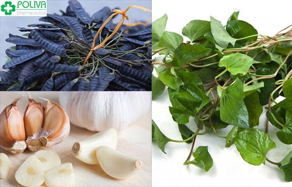 Bài thuốc Đông y chữa bệnh huyết trắng thử từ rau diếp cá, tỏi và bồ kết
