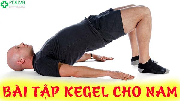 Bài tập Kegel rất tốt cho sinh lý nam