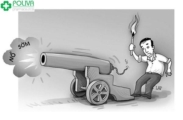 """Sự thật là vô khối các anh không biết điều khiển """"súng ống"""" nổ đúng lúc"""