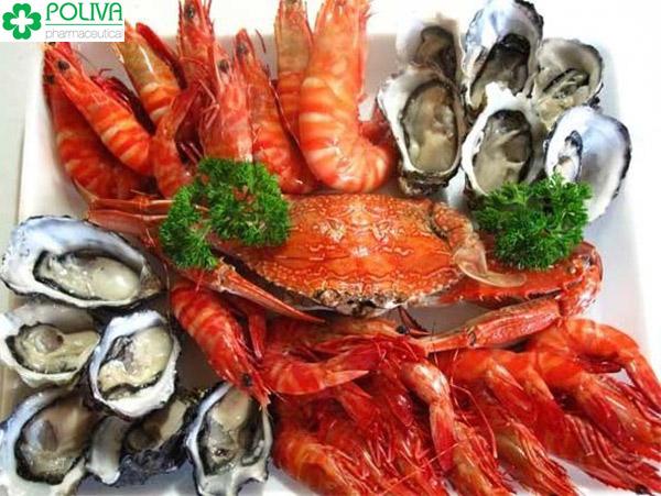 Hải sản là thực phẩm siêu tốt cho nam giới