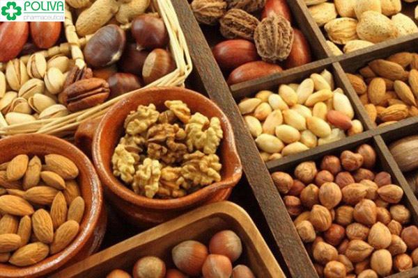 Các loại hạt khô tốt cho sinh lý nam