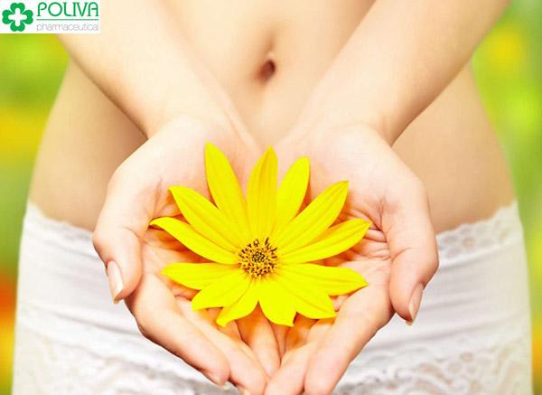Giữ vệ sinh, chăm sóc vùng kín cẩn thận để không bị đau và sưng