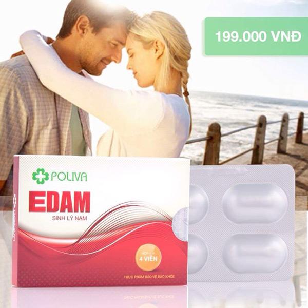 2 viên Poliva Edam giúp đàn ông quan hệ lâu