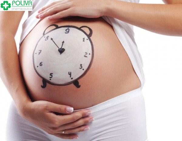Đâu là dấu hiệu sắp sinh trong 24h rõ ràng nhất?