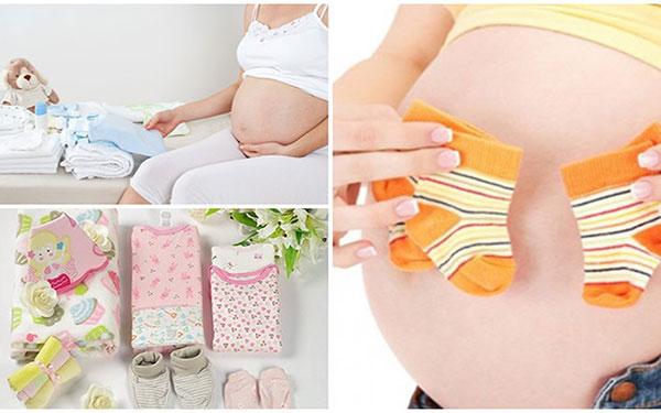 Điểm danh các món đồ chuẩn bị đi sinh cho mẹ, vượt cạn thành công